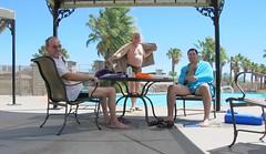 July 23, 2014 (29) (gaymay) Tags: california gay love pool happy desert palmsprings swimmingpool triad