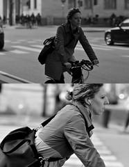 [La Mia Citt][Pedala] (Urca) Tags: portrait blackandwhite bw italia milano bn ciclista biancoenero bicicletta 2014 pedalare dittico ritrattostradale nikondigitalefilippetta 63115