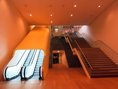 The up and down of it (daviddb) Tags: amsterdam museum stairs escalator stedelijk