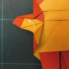 การพับกระดาษเป็นรูปปลาคาร์ฟ (Origami Koi Fish) 024