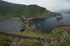 stairs gaztelugatxe (sandra_photo1) Tags: people cliff seascape nature