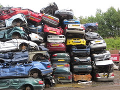 Scrap cars (GoldScotland71) Tags: