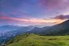 Tai Mo Shan - Hong Kong (Ed Kct.) Tags: city grass sunshine clouds sunrise hongkong dawn nikon cityscape dslr 1635 d4 rgnd progrey