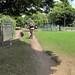 Hartington Park - carving out a bike trail