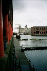Albert Dock, River Mersey (amateur photography by michel) Tags: uk trip travel sea england castle nature analog liverpool river landscape manchester mba scotland warrington edinburgh university 2000 cheshire edinburghcastle cathedral unitedkingdom coba chester mercedesbenz royalmile land townhall british fl usf albertdock castlerock southflorida chestercathedral universityofsouthflorida lymm rivermersey internationalbusiness burtonwood businesstrips collegeofbusiness enterpriseflorida chesterwall lymmhotel britishamericanchamberofcommerce warringtoncouncil greatertampachamberofcommerce twittertuesday mayorswift warringtonsinternationalbusinesscentre centralfloridadevelopmentcouncil economicdevelopmentcommissionofhernandocounty businessconnections2000 burtonwoodarena roxbughehotel macdonadhotelsl