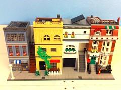 BBTB modular moc (tyfighter07) Tags: by bay lego bricks modular moc 2014 bbtb bricksbythebay bbtb2014 brickbuilder7