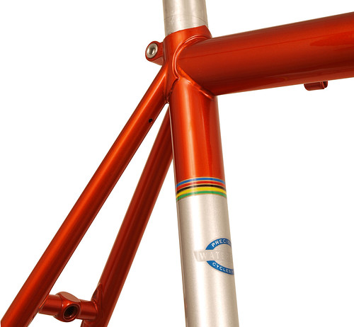 <p>Waterford 33-Series Race Ready in Orange Glow over Sterling SIlver with Silver Panels and Waterford's world Championship color bands.</p>