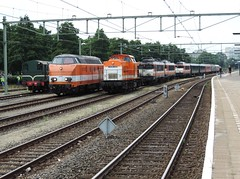 Apeldoorn, 2 augustus 2014. (davelaar21) Tags: apeldoorn 220 9905 9903 636 vsm 9802 9908 locon hippel