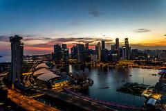 Sunset Sky Singapore (Jared Beaney) Tags: canon singapore singaporecity canon6d singaporeflyer singaporeflyerviews singaporephotogaphy