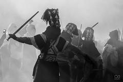 the saharian warrior (omardib1) Tags: blackandwhite man warrior war sebiba djanet desert sahara tassili nadjer algeria africa historic travel traditional tradition festival photography monochrome