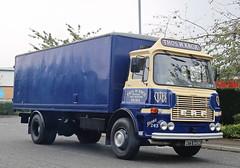 ERF A Van Thomas W Knox NTS849K Bora Scotland Frank Hiton  IMG_8634_1_1 (Frank Hilton.) Tags: classic truck lorry eight wheel maudsley aec atkinson albion leyalnd bristol austin outside heavy haulage crane 8 axle