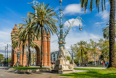 Arco de Triumfo Barcelona (1888) (capvera) Tags: barcelone barcelona catalogna arco arche triomphe triumfo architecture sonyimages a7mii 02757 march2017