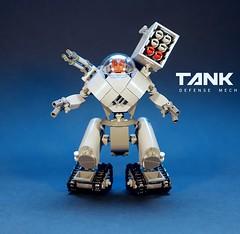 TANK Defense Mech LEGO MOC (GolPlaysWithLego) Tags: lego moc mech walker