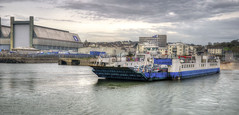 The Torpoint Ferry, River Tamar (Baz Richardson (trying to catch up again!)) Tags: torpointferry rivertamar devon cornwall torpoint devonport chainferries thetorpointferry