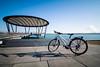 Blau (YaYapas) Tags: fahrrad d7100 11mm see blausteinsee lake nd110 langzeitbelichtung bike longtimeexposure tokina1116 bwnd110 eschweiler nordrheinwestfalen deutschland de