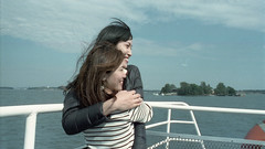 Cinestill Project (amanda aura) Tags: film finland olympusom1 cinestill friend helsinki ocean
