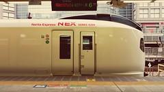 NEX... (Solitude is preferred) Tags: japan trains narita express bullet nose blunt highspeed