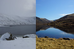 Loch Callater Seasons (steve_whitmarsh) Tags: winter snow ice scotland scottishhighlands aberdeenshire lochcallater water loch lake