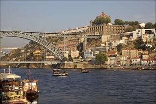Vista parcial de Vila Nova de Gaia, Portugal