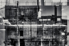 In Progress (pni) Tags: monochrome constructionsite concrete multiexposure multipleexposure tripleexposure wall scaffolding fence helsinginkeskustakirjasto oodi centrumbiblioteket helsinkicentrallibrary library helsinki helsingfors finland suomi pekkanikrus skrubu pni