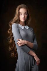 ***** (Alexander Vinogradov) Tags: girl preety cute hair curly eyes portrait