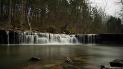 Horseshoe Falls (+Lonnie & Lou+) Tags: longexposure waterfall sony travel forest day winter ohio river lake creek sky trees a7r nisi explore polarizer