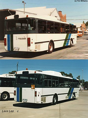 Mercedes Benz O305 - Before & After (RS 1990) Tags: mercedesbenz o305 bus 1501 501 rear before after adelaide southaustralia timwilliams locoles comparison