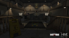 Raccoon City: RPD Lobby (Andy2 Spore) Tags: thehive residentevil roleplay raccooncity re2 re3 secondlife police station rpd zombie outbreak tvirus apocalypse adventure mystery movie michigan game