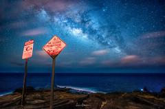 2017 Milky Way Tour Lanai Lookout (JUNEAU BISCUITS) Tags: lanailookout milkyway astrophotography astronomy ocean starscape skyscape longexposure nikond810 nikon hawaii oahu landscape nikon1424