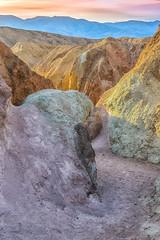 Within the Palette (William Horton Photography) Tags: artistsdrive artistspalette artist'sdriveformation california deathvalley deathvalleynationalpark mojavedesert nationalpark colorfulrock desert volcanictuff