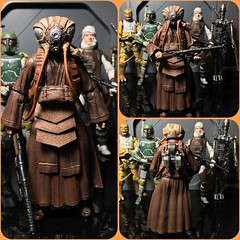"Custom SWBS 6"" Zuckuss or for the guys that grew up with Kenner like me. He will always be 4-Lom (chevy2who) Tags: back strikes empire esb hunter bounty 4lom zuckuss inch six toyphotography figure action toy wars starwars series black starwarsblackseriescustom"