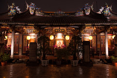 20170421 - the God of agriculture (forestbug) Tags: temple god asia taiwan night building architecture 保安宮 建築