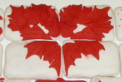 patriotic heart (rwarren69) Tags: wicc heart maple fondant cookie white red