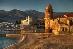 Collioure at Sunrise (hapulcu) Tags: catalan collioure france francia frankreich frankrijk fransa frança pyrenees