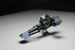L-s3 Speeder bike ([C]oolcustomguy) Tags: lego speeder bike brick arms brickarms star wars