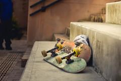 Hora de descansar. (santiagoshg) Tags: nikon nikond5500 d550 photo photography flickr foto tarde escaleras skate deporte skateboarding skating wheels