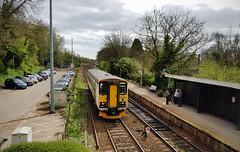 153306 Brundall 05/04/2017 (Flash_3939) Tags: 153306 class153 dmu dieselmultipleunit abelliogreateranglia aga white brundall bda station angliaplus rail railway train uk april 2017