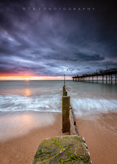 Morning Storm (RTA Photography) Tags: teignmouth devon dawn sunrise storm clouds sky groyne beach seascape rtaphotography pier waves sea