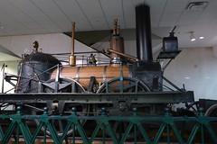 P1040919 (jerry_kuo) Tags: smithsonian nationalmuseumofamericanhistory washingtondc johnbull steamlocomotive