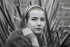 Like a season (Enrico Cavallarin) Tags: portrait girl exotic girlportrait makeup garden home blackwhite biancoenero blackandwhiteportrait blackandwhite face portraiture fashion lips