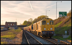 _JM20580 (saltley1212) Tags: gbrf hnrc class20 20107 20096 20311 20314 lul sstock 415 416 small heath sunset 7x09