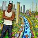 لوحات الفنان السذاجة رسام فنون الشعبية معرض المشهد البدائي الرسامين الأعمال الفنية