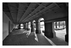 Under the arcades (rafasmm) Tags: lodz łódź poland polska europe city street outdoor citycenter under arcades old town