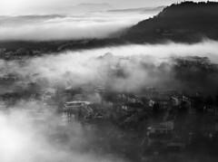 Questa nostra Terra (Giuseppe Cocchieri) Tags: bw blackwhite blackandwhite bianconero biancoenero landscape paesaggio frog mist nebbia mood atmosfera atmosphere earth terra