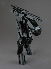 VIOLISE 3 (mondayn00dle) Tags: lego mech mecha stealth sniper black