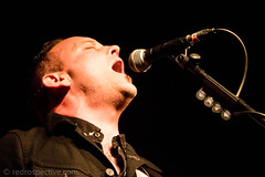 IMG_2503 (redrospective) Tags: 2017 20170316 davehause london march2017 thegarage black closeup concert concertphotography dark electricguitar gig guitar guitarist instruments live man microphone music musicphotography musicians passionate people singer singing spotlights