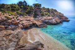 (238/17) Cala Racó del Conill (Pablo Arias) Tags: pabloarias photoshop photomatix nxd españa cielo nubes mar agua mediteráneo arena playa cala racódelconill villajoyosa alicante