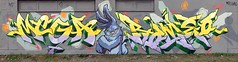easterwall Osnabrück (daddies nasty sons) Tags: mega romeo graffiti osnabrück easter rabbit molotow lettersfirst swing