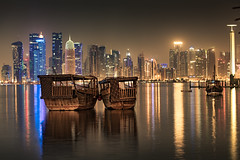New & Old! (aliffc3) Tags: doha dhows nikond750 nikon70200f4 cityscape travel tourism reflections artistic art qatar