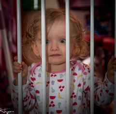 Behind Bars (Wayne Cappleman (Haywain Photography)) Tags: wayne cappleman haywain photography ruby behind bars toddler baby portrait